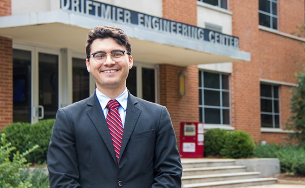 UGA engineering student, professor honored at Georgia Engineering Awards