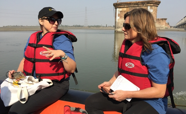 Engineering professor to help lead National Geographic Ganges expedition